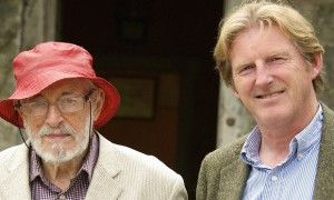 J.P. Donleavy and Adrian Dunbar