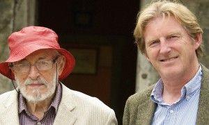 J.P. Donleavy and Adrian Dunbar