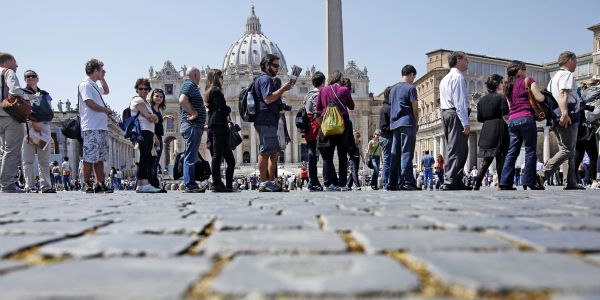 Rome tour guides face unusual questions