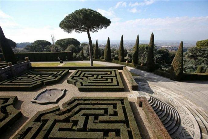 Pontifical Gardens at Castelgandolfo
