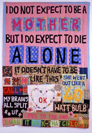 EMIN-I-do-not-expect-Appliquéd-blanket-2002-©the-artist-photo-Stephen-White.