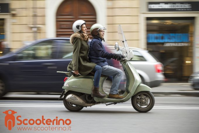 Scooterino takes off in Rome