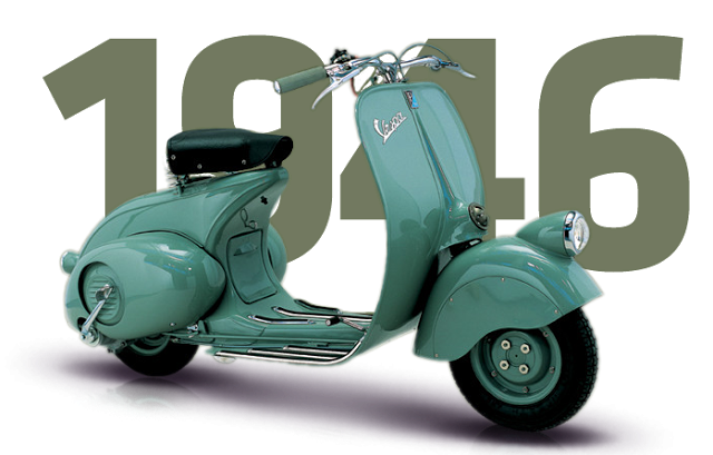 1946. Happy Bday Vespa!