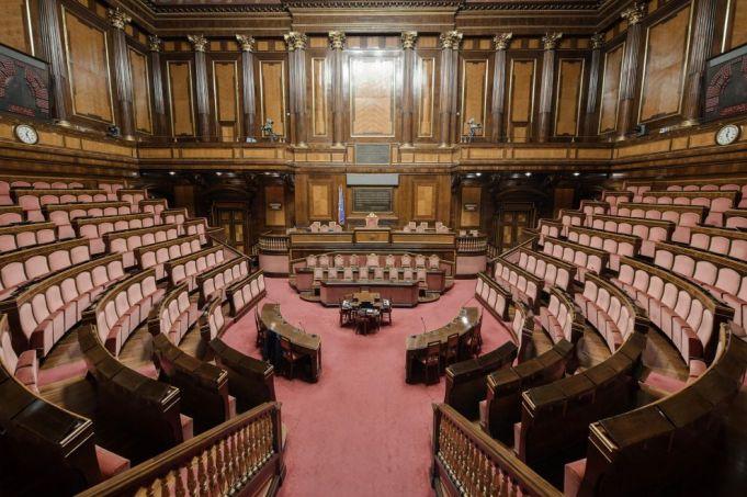The senate at Palazzo Madama