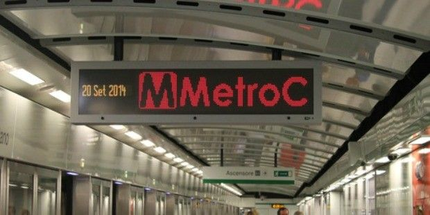 Six new stations for Rome's Metro C