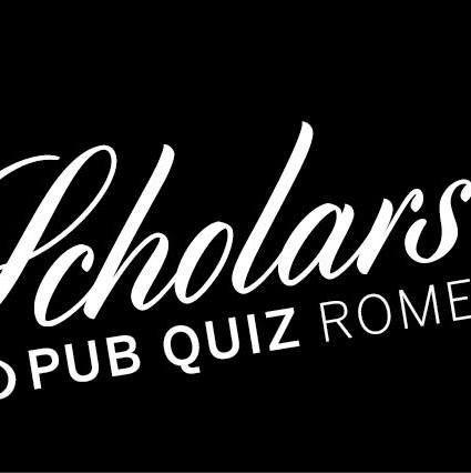 Scholars Pub Quiz Rome