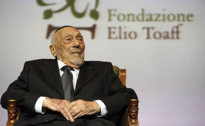 Former chief rabbi of Rome dies