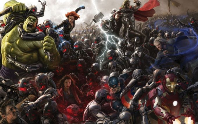 Avengers: Age of Ultron showing in Rome
