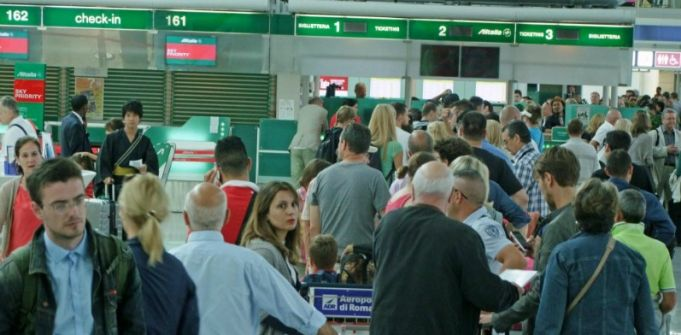Passengers face more difficulties at Fiumicino airport