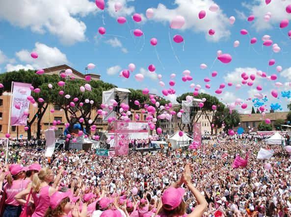 Rome race for cancer awareness