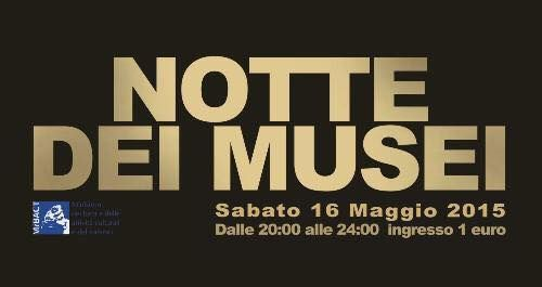 Museum Night in Rome on 16 May