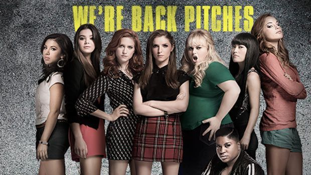 Pitch Perfect 2 showing in Rome