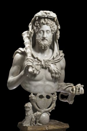 Commodus (180-192 AD) as Hercules.