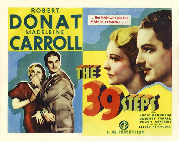 39 Steps showing in Rome