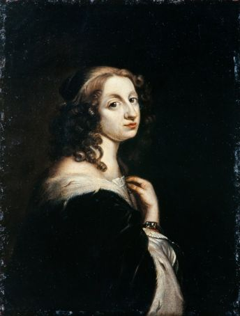 Queen Christina, portrait by David Beck