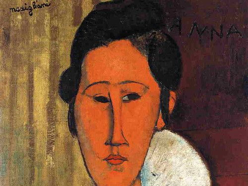 Painting of the month: Hanka Zborowska by Modigliani