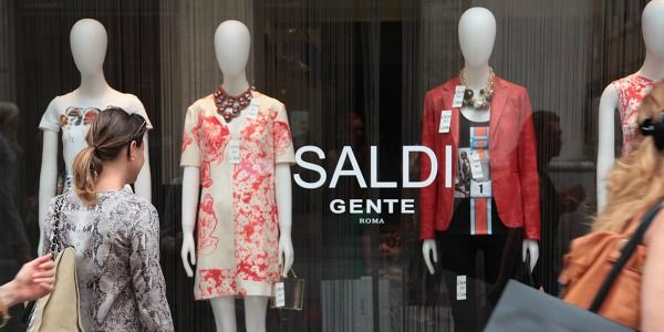 Rome's summer sales begin on 4 July