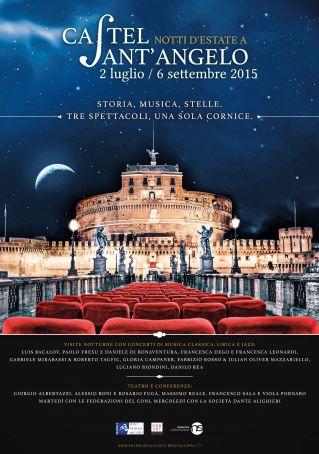 Summer nights at Castel S. Angelo