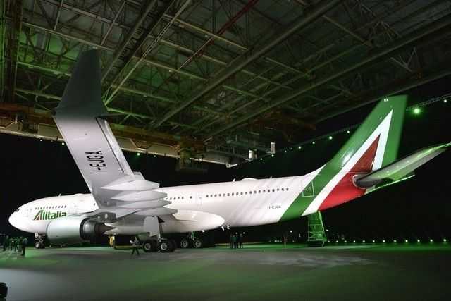 Alitalia unveils new look