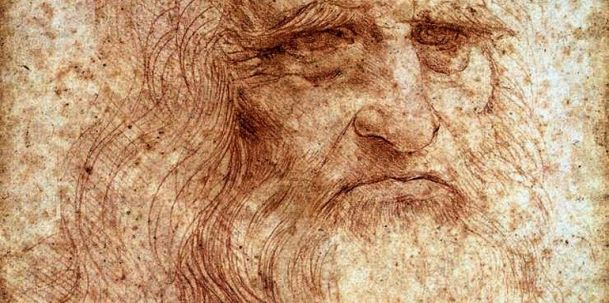 Leonardo da Vinci self-portrait comes to Rome