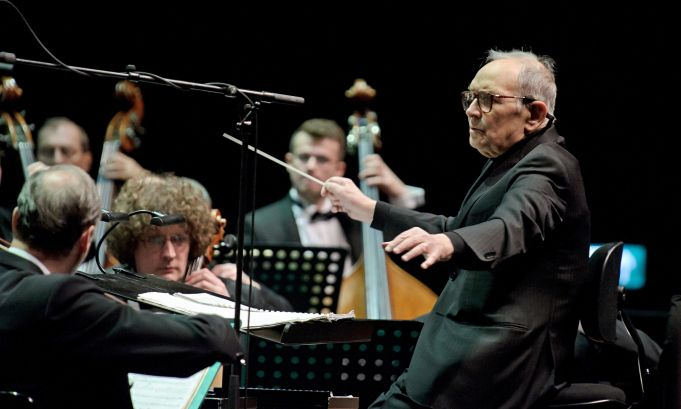 Premiere of Ennio Morricone's first Mass