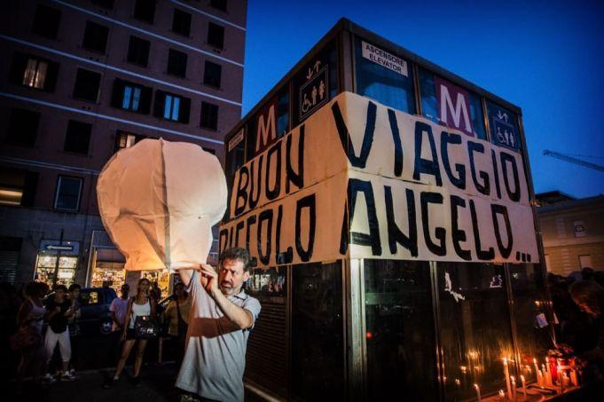 Rome mourns metro death