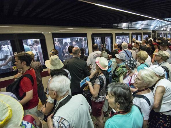 Rome's metro trains go slow