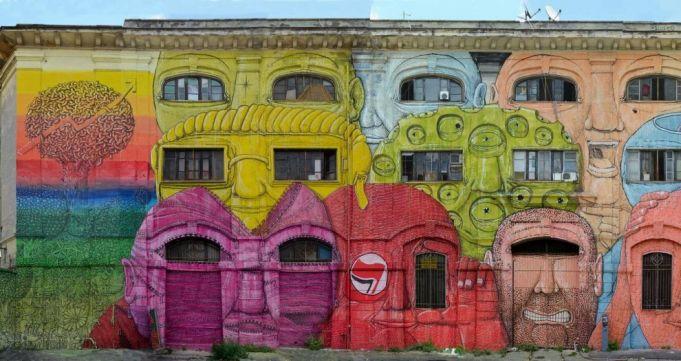 Street art tours of Ostiense and Testaccio