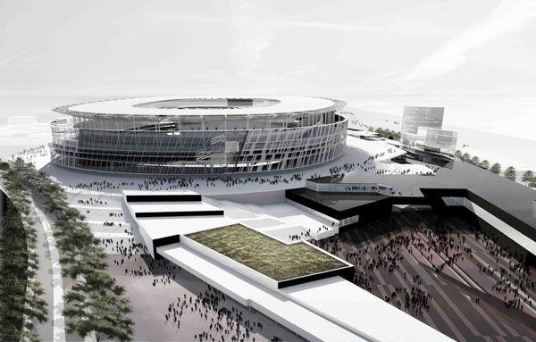Rome displays model of new stadium