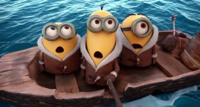 Minions showing in Rome