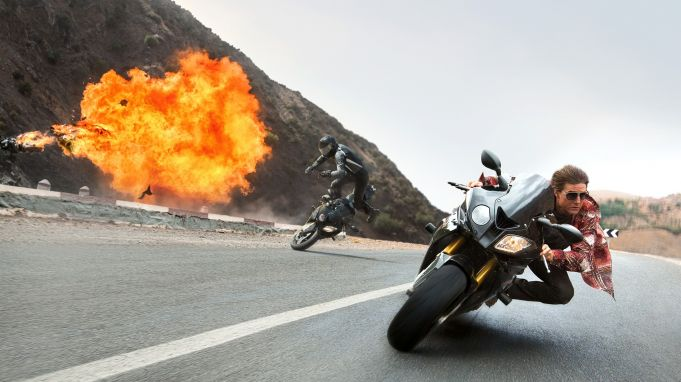 Mission impossible: Rogue Nation showing in Rome