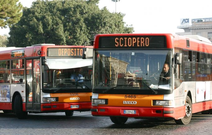 Public transport strikes in Rome on Friday 7 August