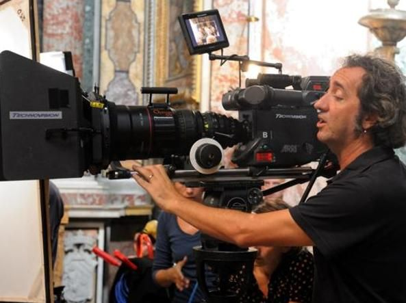 Sorrentino films new movie in Rome