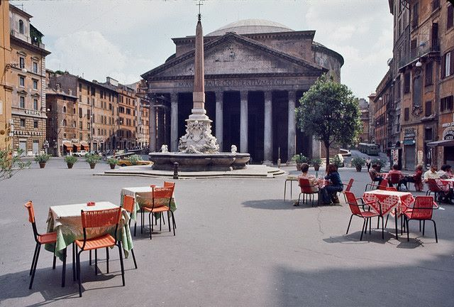 Pantheon in 1975