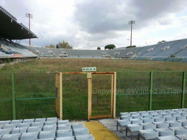 Unbelievable!  Stadio Flaminio today.