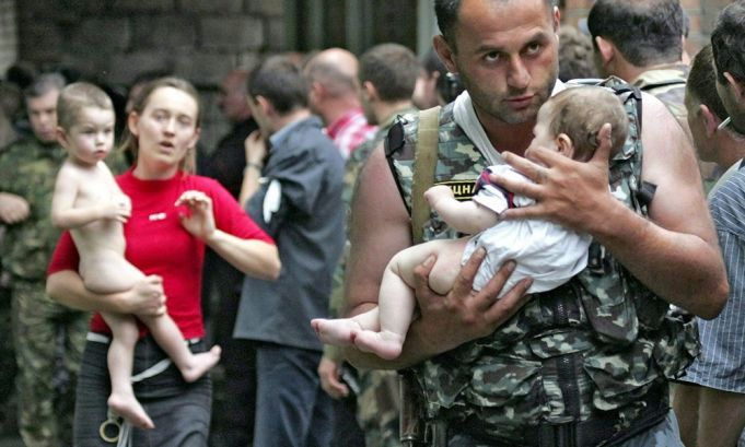 Beslan massacre.1-3 September 2004