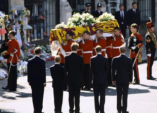 Diana, Princess of Wales  1 July 1961 – 31 August 1997
