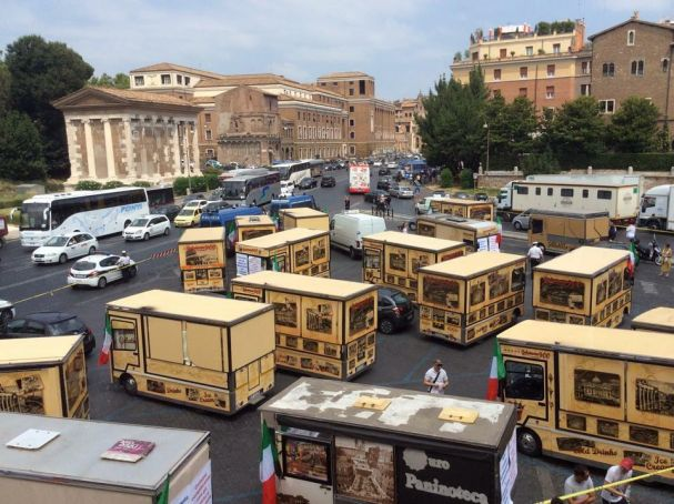 Court upholds Rome's increased rates for street trading
