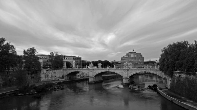 Rome in black and white. Ph: Iacopo Sequi