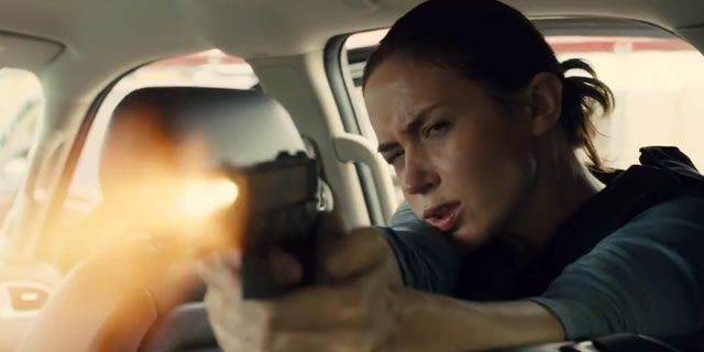 Sicario showing in Rome