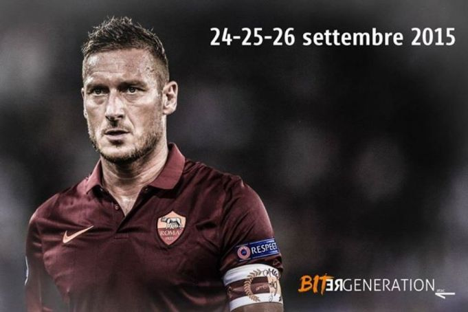 Totti on Rome bus tickets