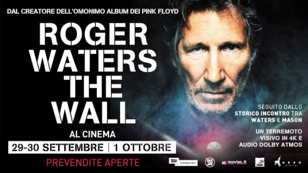 Roger Waters: The Wall showing in Rome