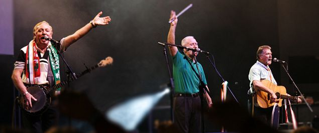 The Wolfe Tones come to Rome