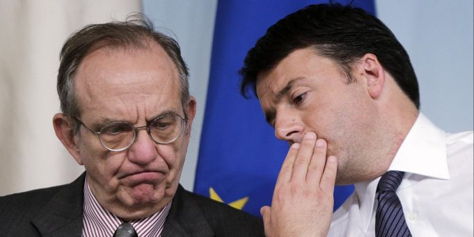 Renzi government presents budget plan