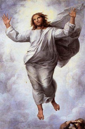 Raphael - Christ detail