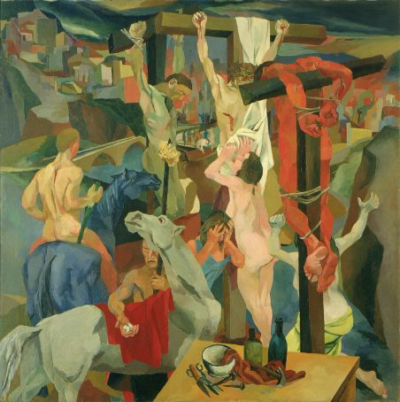 Painting of the month: Crocifissione by Renato Guttuso