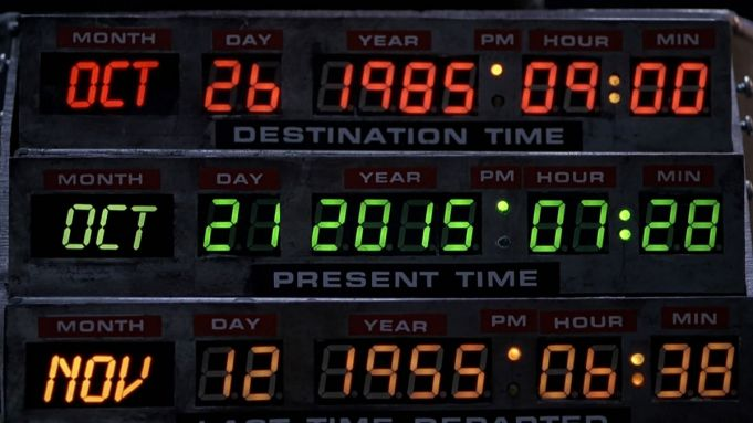 Back to the Future Day in Rome