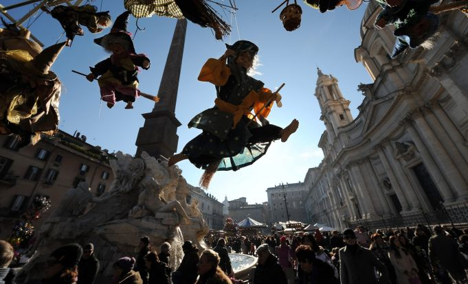 Reorganisation of Rome's Christmas market
