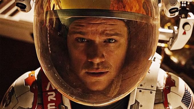 The Martian showing in Rome