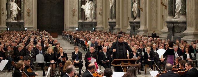Festival of sacred music and art in Rome